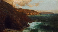 cliff line in the sunlight by alfred liedtke