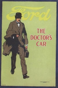 ford / the doctor's car by posters: auto - monaco grand prix