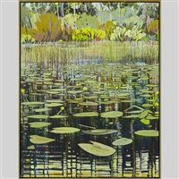 wild rice, lily pads and summer breezes by ted godwin