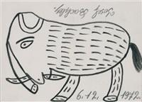 elephant by josef bachler