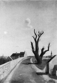 paysage à l'arbre by georges arditi