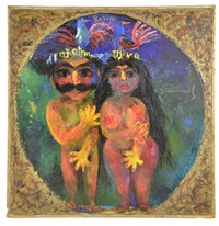 adam and eve by rasim babayev