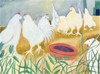 poules by léon spilliaert