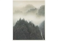 clear morning mist (reproduction) by shinkichi (kaii) higashiyama