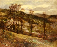 village in a valley by robert kemm