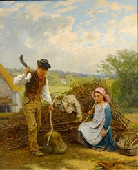 helping a neighbour by james clarke waite
