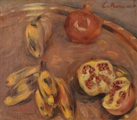 nature morte aux grenades by émile bernard