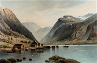 hardanger fjord by siegfried hass