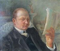 la lecture by norbert goeneutte