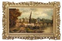 Richmond bridge from the Surrey side