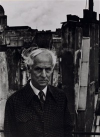 portrait de max ernst by denise colomb