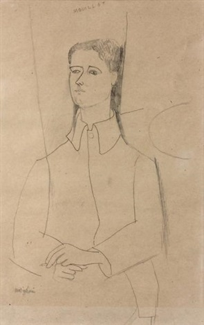portrait de marcel mouillot 1889 1972 by amedeo modigliani