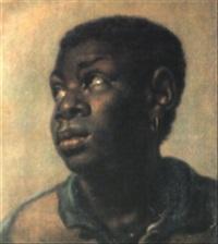 porträt eines negerknaben mit goldenem ohrring by albert van der eeckhout