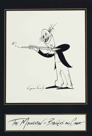 the marksman bangers and cash by gerald scarfe