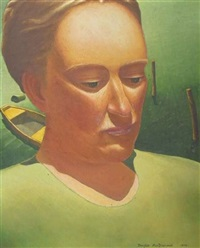 portrait of isabella mackenzie by douglas macdiarmid