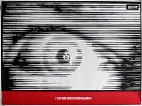 surveillance eye by shepard fairey