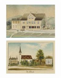 haus mit wagner (+ in ebnat, smllr; 2 works) by anna barbara aemisegger-giezendanner