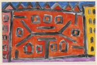 paläste (palaces) by paul klee