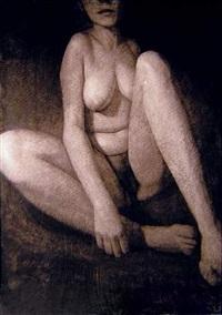 autoportrait iii by emmanuelle perat