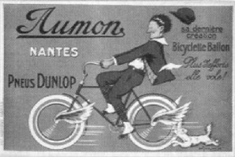aumon bicyclette nantes by marcel j l jacquier