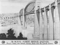 the royal albert bridge, saltash by anton van anrooy