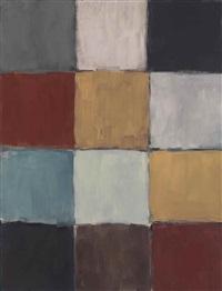 checker blue by sean scully
