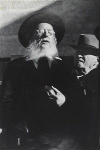 rabbin en israël by robert capa