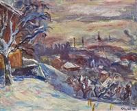 vinter, lillehammer by kristen holbø