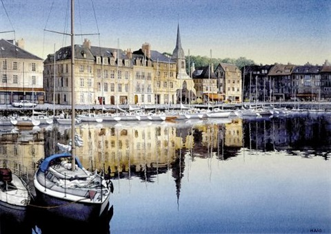 honfleur france by edwin haas