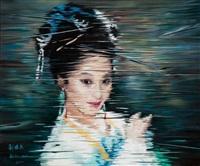 portrait xi shi ii by liu baomin