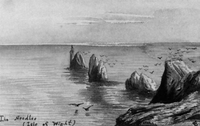 vues de la campagne française de montagne de normandie by édouard quesnel