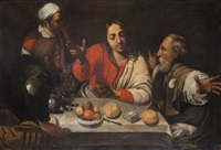 cena in emmaus by pietro d' asaro