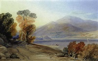 ben lomond and part of loch lomond by samuel jackson