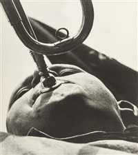 pioneer with trumpet by alexander rodchenko