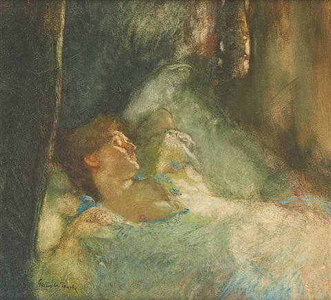 le repos by gaston la touche