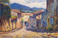 rue de village by alban dulac