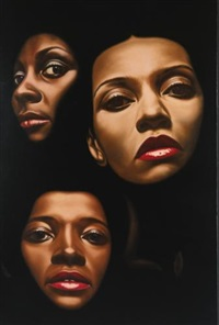 three women by richard phillips