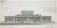 design for a national monument by john soane