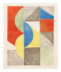 carres et demi-cercles by sonia delaunay-terk