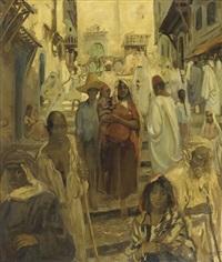 kasba algiers by gérardus hendrik grauss