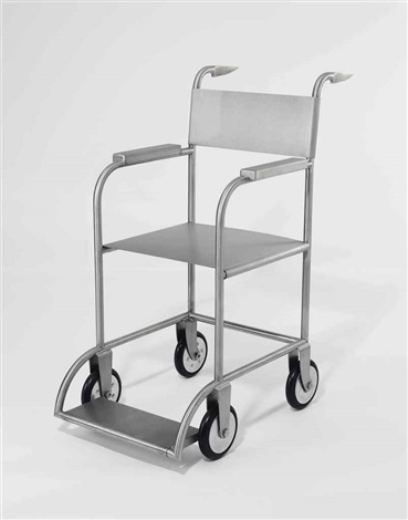 untitled wheelchair by mona hatoum