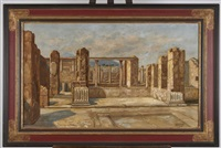 ruines de pompéi by nicola ascione