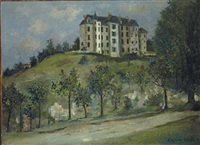 le château de luynes by maurice utrillo