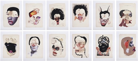 histology of the different classes of uterine tumors 12 works by wangechi mutu