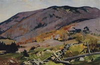 vermont mountainside by charles curtis allen