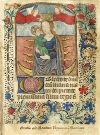book of hours (bk. w/ 4 works) by french school (15)