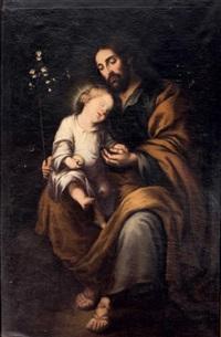 san josé con el niño by francisco meneses osorio