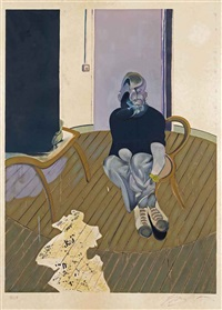 autoportrait (sabatier 12) by francis bacon