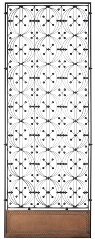 elevator enclosure panel from the chicago stock exchange collab wlouis sullivan by dankmar adler
