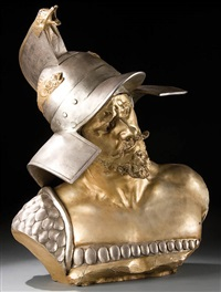 bust of a gladiator by richard aurili